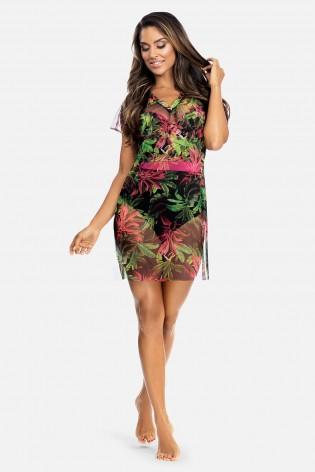 Шифоновое, пляжное платье Feba Jungle