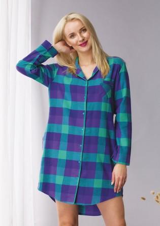 Женская фланелевая рубашка Key Purple