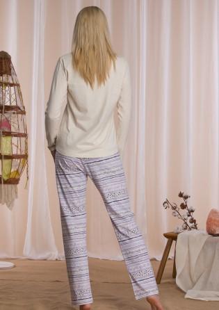 Женский пижамный костюм Key Lavender