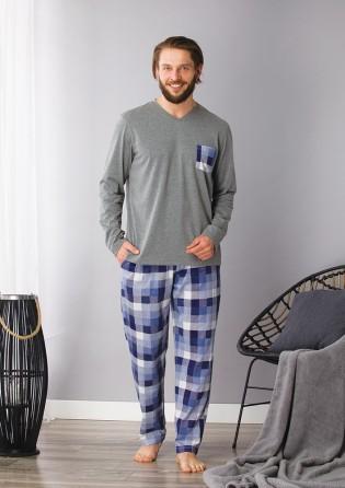 Домашний костюм для мужчин  Key Blue sky