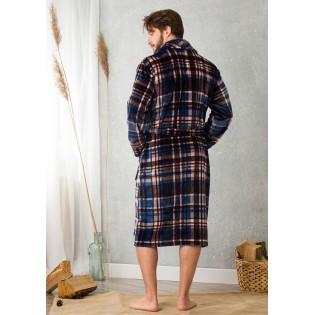 Длинный мужской халат Key