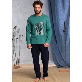 Хлопковая мужская пижама Key Tree