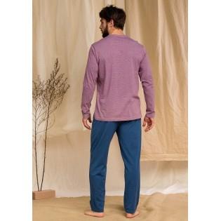 Мужская пижама со штанами Key