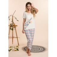 Пижама женская со штанами Key Flow