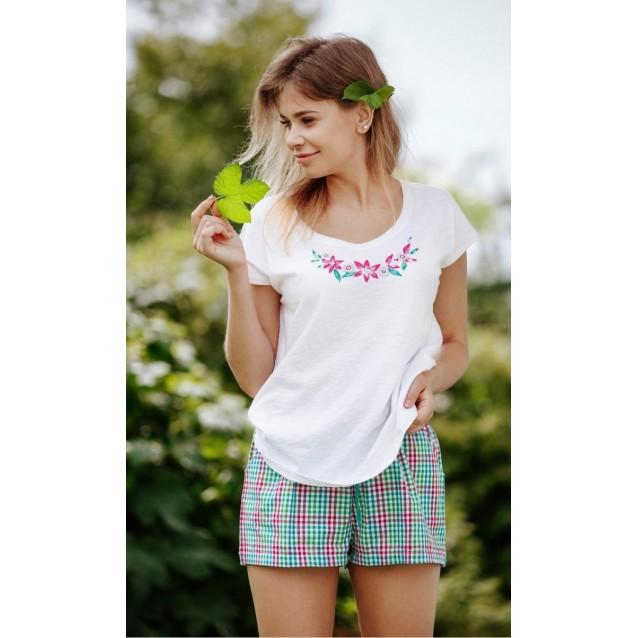 Женская пижама с шортами Key Flow