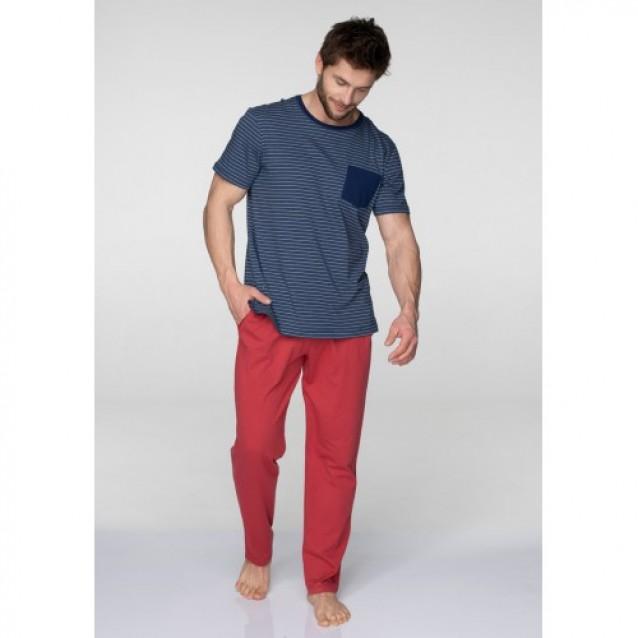 Мужская пижама из хлопка Key