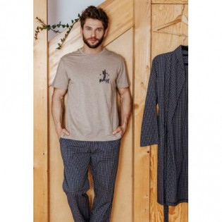 Пижама мужская из хлопка