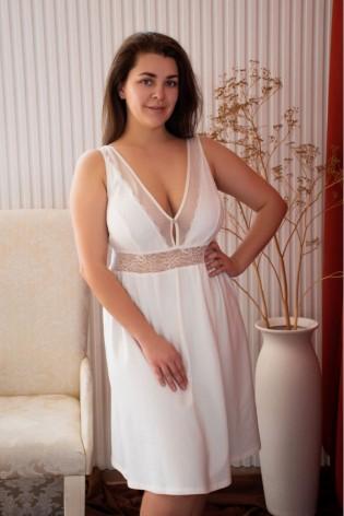 Красивая сорочка plus size Nicole