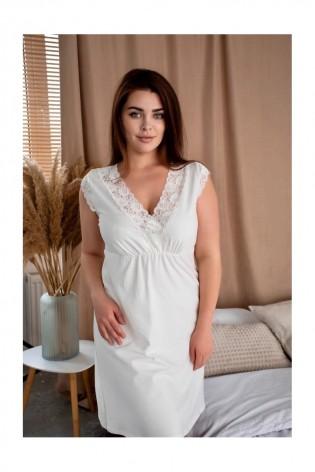 Домашнее платье-сорочка большого размера Nancy