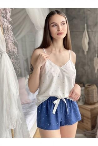 Красивая пижама с шортами Katherine