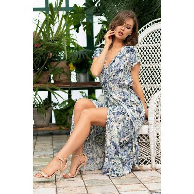 """Длинный халат платье """"Мадейра"""""""
