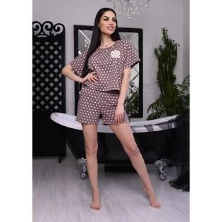 Пижама в горошек Agata