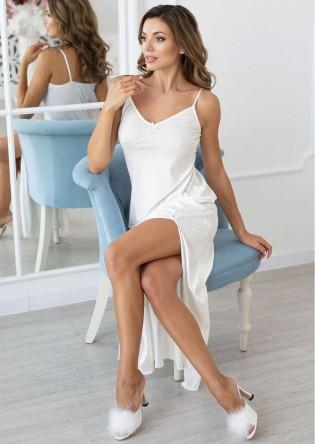 Длинная белая сорочка Angel