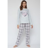 Женская пижама со штанами Cloud