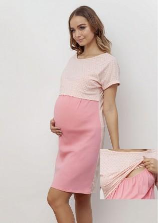 Сорочка для беременных и кормящих Happy Mom