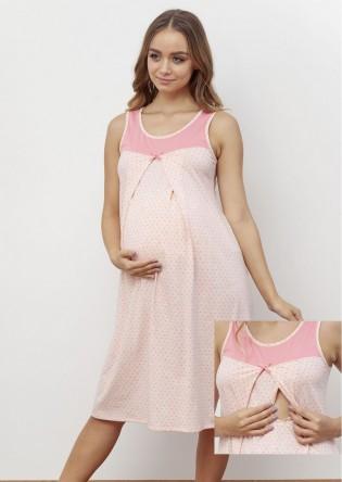 Ночная сорочка для кормящих мам Happy Mom