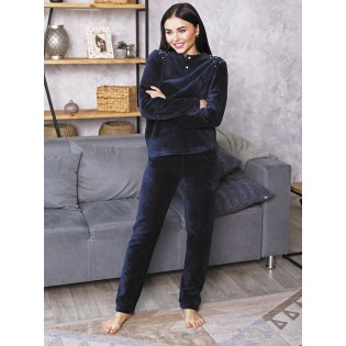 Плюшевый домашний костюм женский Lavander