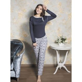 Женская пижама большого размера Lavander
