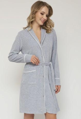 Женский халат на пуговицах Veronika