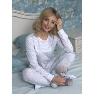 Женская пижама из хлопка