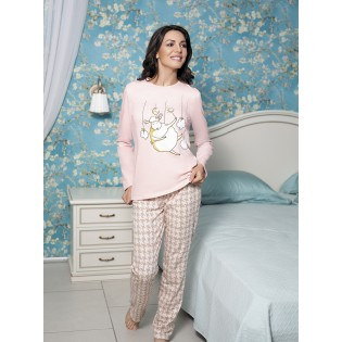 Пижама женская со штанами Dolly