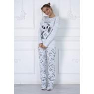 Женская пижама со штанами Panda
