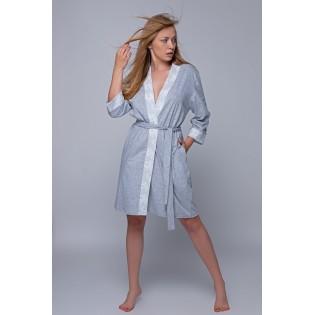 Женский трикотажный халат Natali