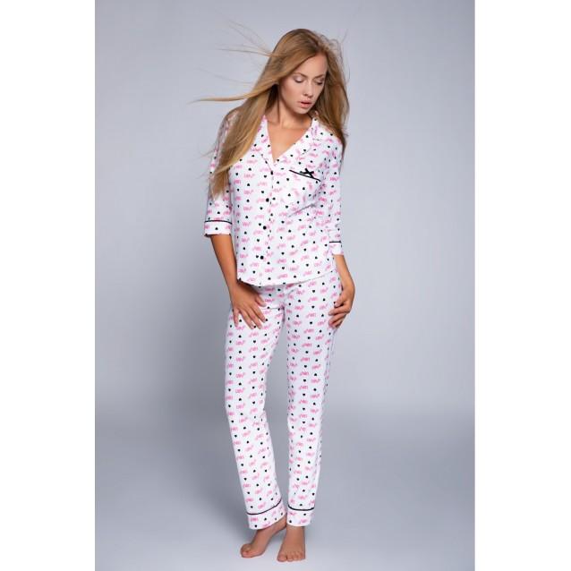 Женская пижама рубашка брюки Voque