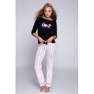 Женская трикотажная пижама со штанами Blake