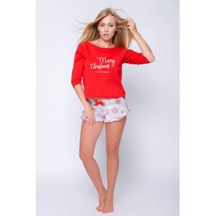 Рождественская пижама женская Gifti