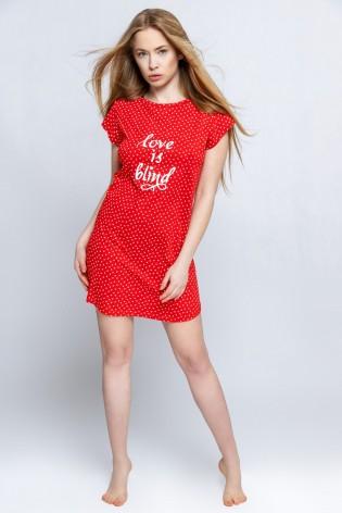 Домашнее женское платье Sensis Love Is Blind