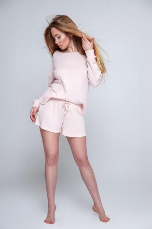 Пижамный костюм с шортами Sensis Magnetism pink