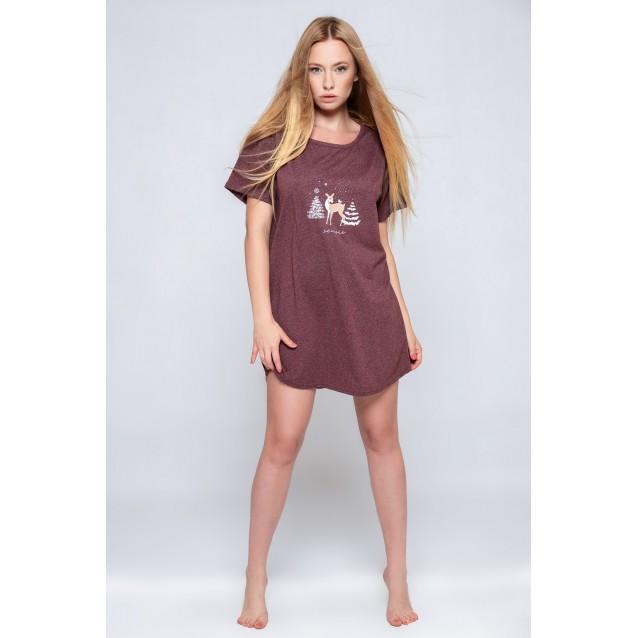 """Женская футболка-сорочка """"оверсайз"""" Sensis Mystique"""