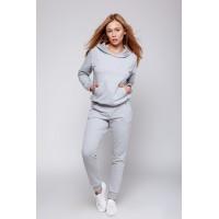 3efc9f243c214 Женский трикотажный костюм Coma Grey