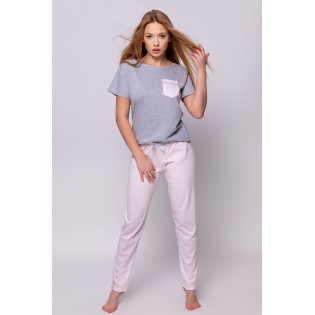 Пижама из хлопка со штанами SENSIS HANNAH