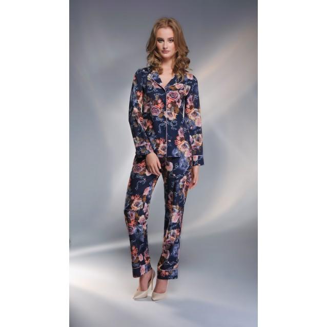 Шелковая пижама со штанами Shato