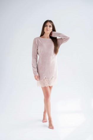 Платье для дома из велюра Shato