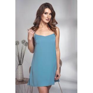 Короткая сорочка Shato Smokee blue