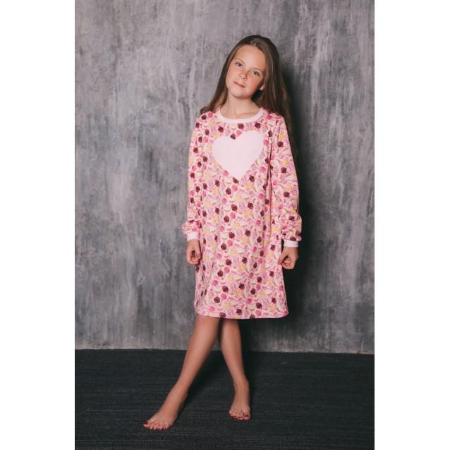 Детское домашнее платье сорочка