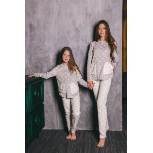 Флисовая детская пижама