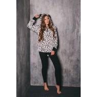 Домашний костюм «Плюшевый леопард»
