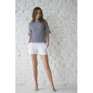 Женские шорты с футболкой Lines