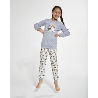 Пижама со штанами для девочки Cornette Kitty