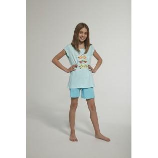 Детская хлопковая пижама с шортами Cornette Fruits