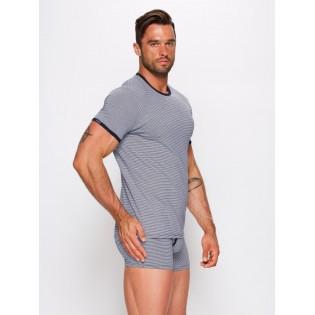 Мужская футболка в полоску Фабио