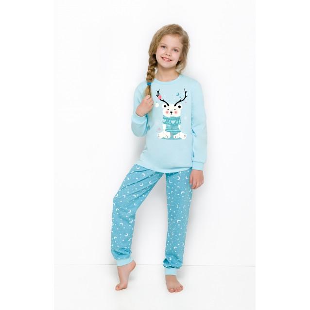 """Пижама для девочек """"Новогодний Мишка"""""""